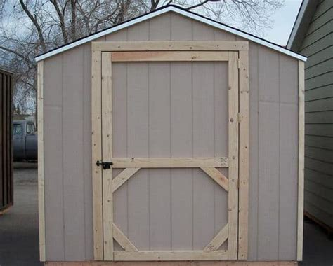 ideas   plans    build  shed door
