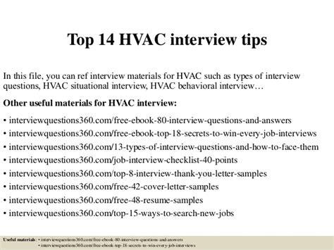 top 14 hvac tips