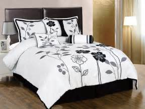 White Bedding Sets Most Beautiful Black And White Bedding Sets The Comfortables