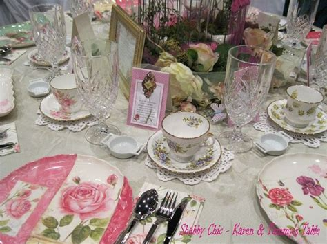 shabby chic tea party ideas stitch bitch pinterest