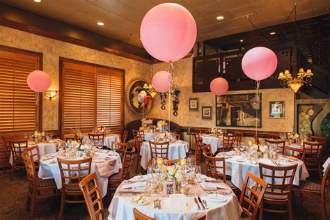 bridal shower at a restaurant pink and gold glitter bridal shower the majestic vision