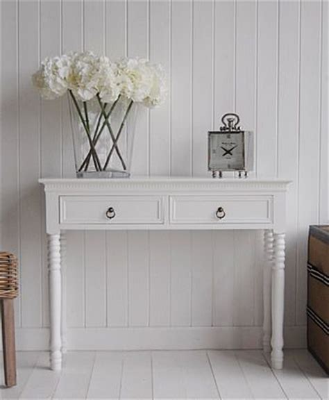White Entrance Table Pallet Entryway Table Foyer Table Narrow Console Table