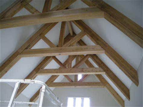 Cedar Beam Ceiling by The Cottages Of Danberry Vaulted Ceiling With Tudor Beams