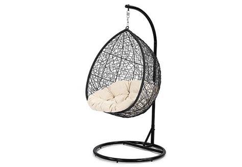 egg shaped swing chair nz outdoor egg swing chair grabone nz