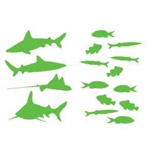 fish wall sticker fish and sharks wall sticker kids wall stickers