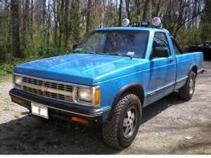 1991 Chevrolet S10 Dixie 4x4 1991 Chevrolet S10 Regular Cab Specs Photos