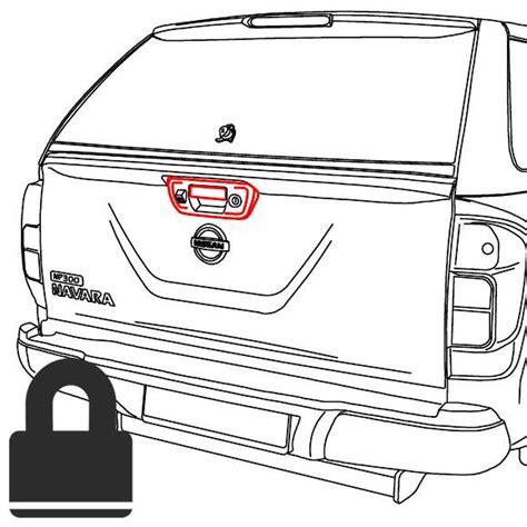 Paket Alarm Merek Silicon Plus Central Lock 4 Pintu Komplit road ranger tailgate central remote locking kit nissan np300 navara up country 4x4 and up