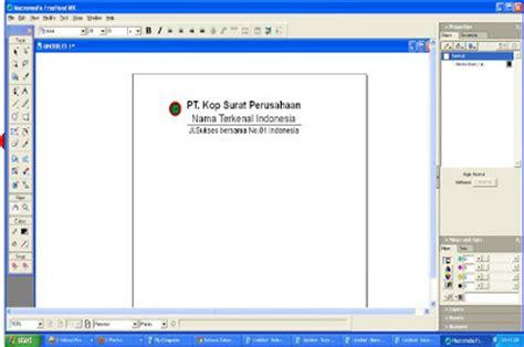 membuat kop surat dengan corel draw a s t r a p r i n t i n g cara membuat kop surat freehand