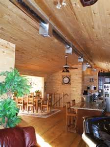 pole barn home interior finishing inside a pole barn studio design gallery