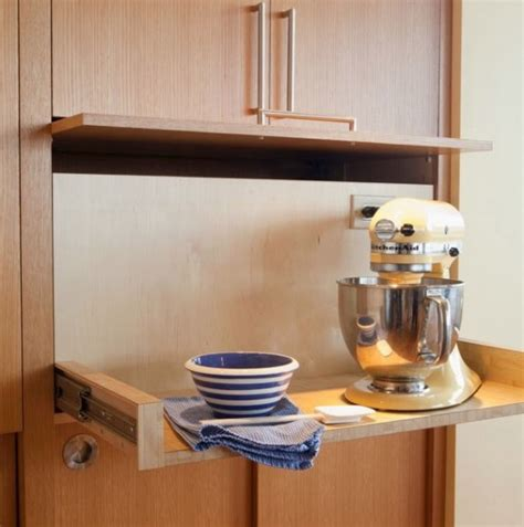 clever kitchen storage ideas 42 creative appliances storage ideas for small kitchens