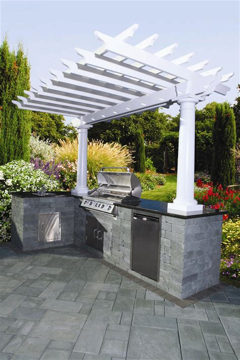 ideas for outdoor kitchen 15 smart outdoor kitchen ideas that go way beyond grills