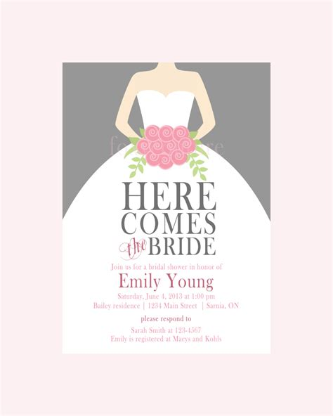 make free printable bridal shower invitations blank bridal shower invitations disneyforever hd