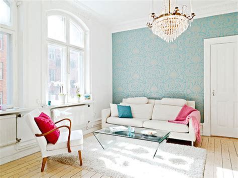 Living Room Wallpaper Or Paint Ideas Simple Scandinavian Style Interior Design Ideas To