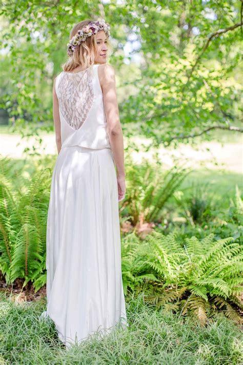 hochzeitskleid nachhaltig hochzeitskleid schlicht modern schlichte brautkleider