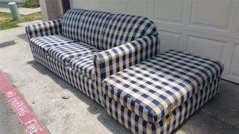 hide a bed ottoman affordable couch haul away in san diego fred s junk removal