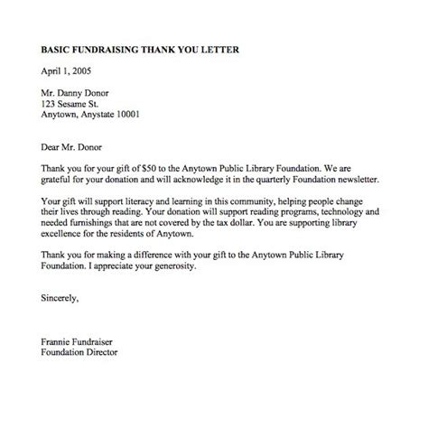 Thank You Letter For Church Scholarship 30 thank you letter templates scholarship donation