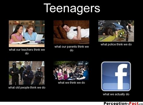 Teenagers Meme - teenagers what people think i do what i really do