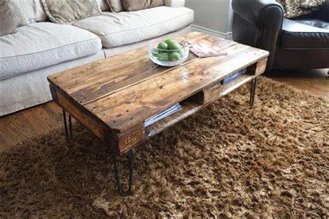 diy metal coffee table legs diy pallet skid coffee table with metal legs pallet furniture diy