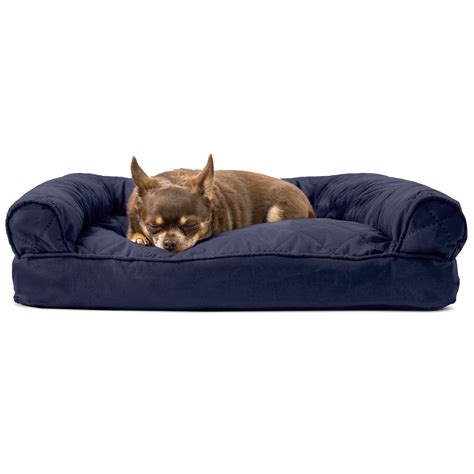 pet pillow bed furhaven quilted pillow sofa dog bed pet bed ebay