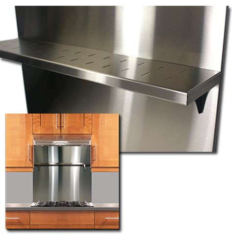 stainless steel backsplash with shelf stainless supply stainless steel backsplashes