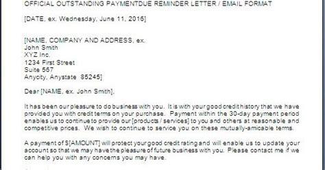 Polite Payment Reminder Letter Format polite payment reminder letter format