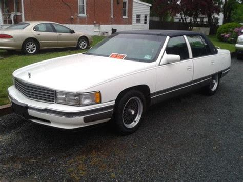 how do i learn about cars 1996 cadillac deville engine control sell used 1996 cadillac sedan deville 4 door 4 6l in trenton new jersey united states for us