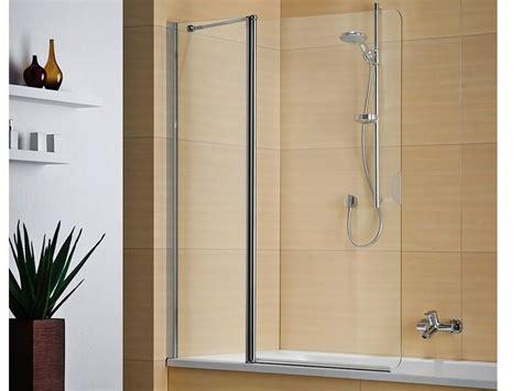 parete pieghevole per vasca da bagno parete per vasca pieghevole in cristallo multi s 4000 duka