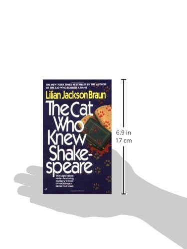 Lilian Jackson Braun The Cat Who Knew Shakespeare 1 libro the cat who knew shakespeare di lilian jackson braun