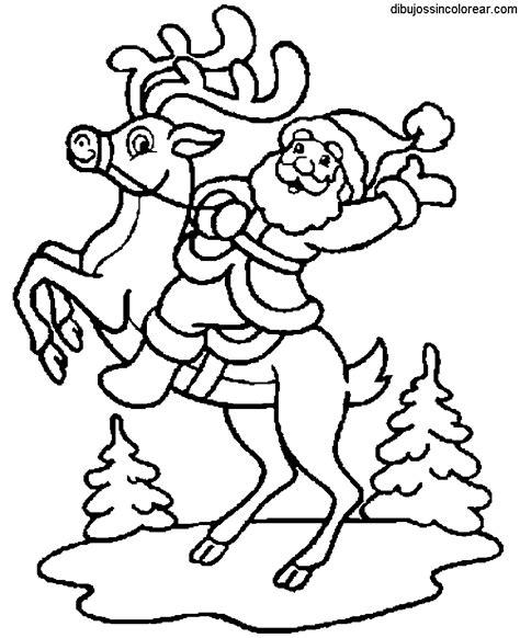 imagenes de santa claus para copiar dibujos de pap 225 noel santa claus para colorear