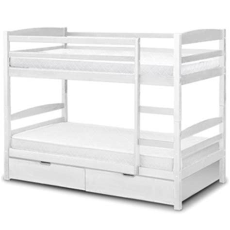 White Bunk Beds Australia Buy Bunk Bed Timber With Drawers Ladder Mattresses White Graysonline Australia