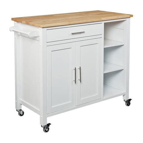 Free Standing Kitchen Pantry Furniture by Boston Loft Furnishings Jayden Kitchen Cart Lowe S Canada