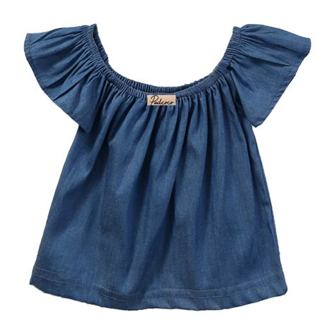 Blouse Vaby princess baby blouse summer style 2017 sleeve shoulder blouses shirt tops
