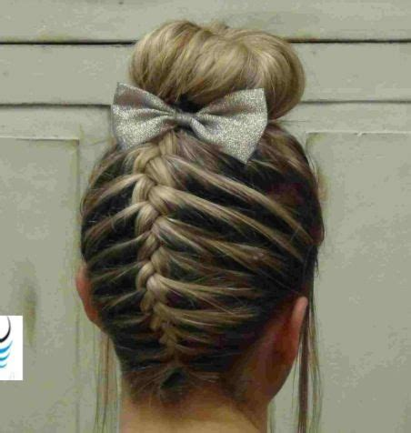 hairstyles for long hair for competition cheerleading hair style hairstyles hair tips pinterest