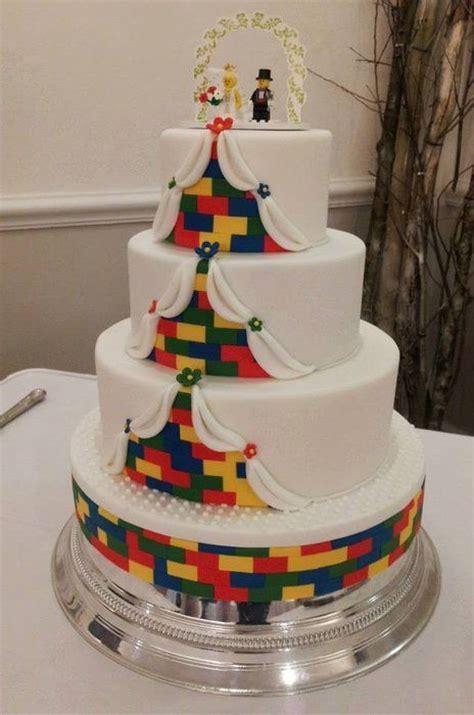 Hochzeitstorte Lego lego wedding cake cake by sweetcheeks cupcakes cakesdecor
