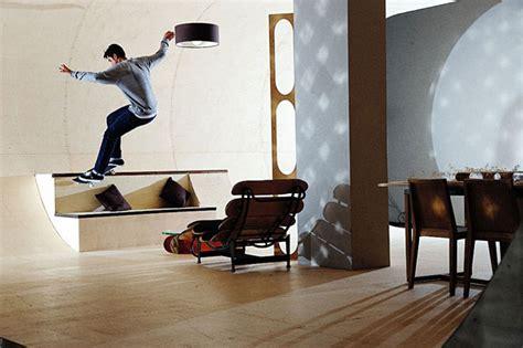 skateboard home design world s first skateboard house bored panda