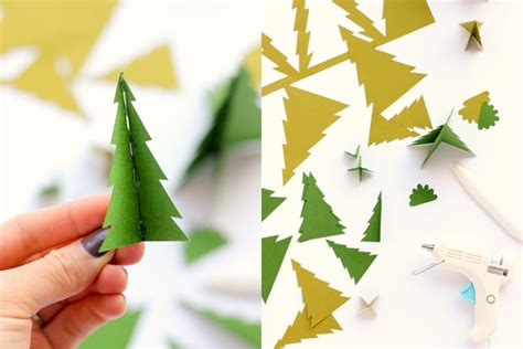 How To Make Paper Bushes - paper houses free templates