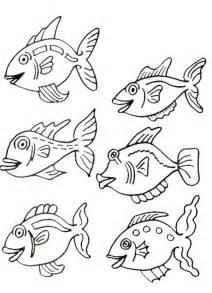 kleurplaten en zo 187 kleurplaten van vissen