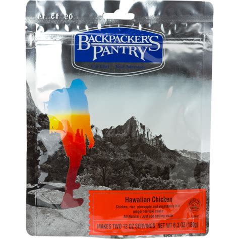 Backpackers Pantry Reviews by Backpacker S Pantry Hawaiian Style Rice With Chicken