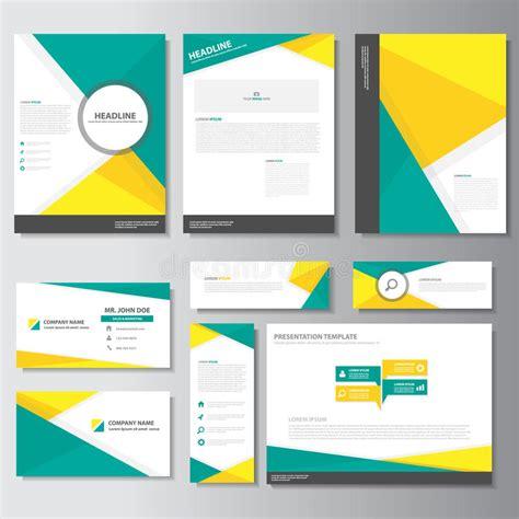 brochure template yellow green yellow business brochure flyer leaflet presentation