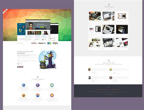 html5 profile template 65 free responsive html5 css3 website templates