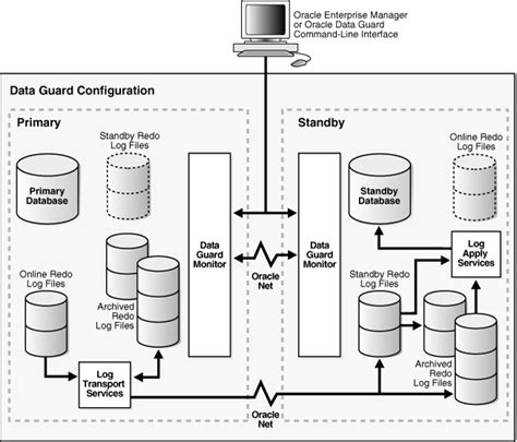 oracle 11g data guard architecture diagram one can succeed at almost anything for which he has