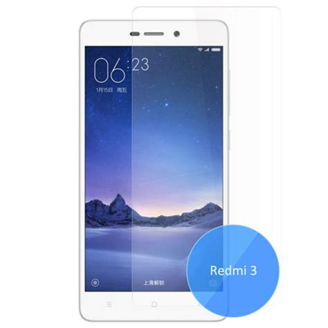 Tempered Glass Xiaomi Redmi 3 3s 3x 3 Pro Screen Guard Anti Gores Kaca xiaomi redmi 3 3 pro 3s 3x tempered glass screen protector 0 33mm reviews price buy