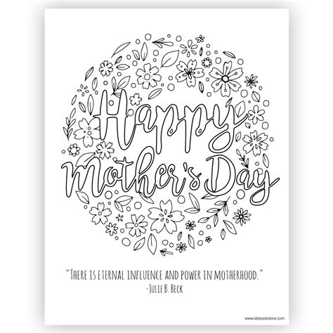 happy mothers day coloring pages happy s day coloring page printable