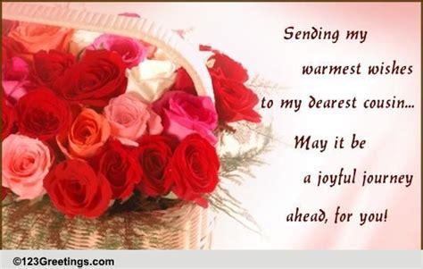 Wedding Wishes New Journey by Wishing You A Joyful Journey Ahead Free Wishes Ecards