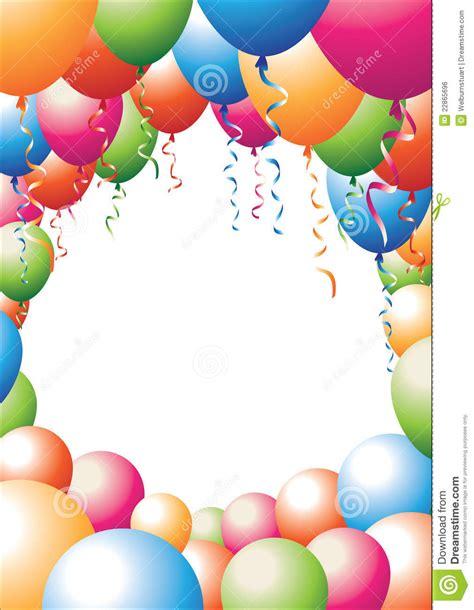 palloncini clipart clipart balloon borders free clipartxtras
