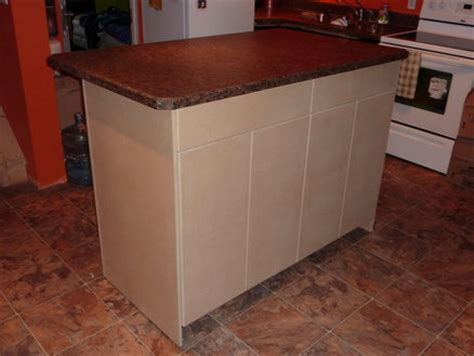 simple kitchen island simple kitchen island by jesse friesen lumberjocks com