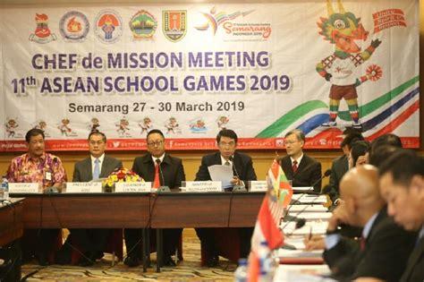 kemenpora  gelar asean school games   semarang