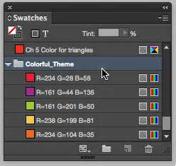 indesign s colour theme tool tip of the week using the color theme tool