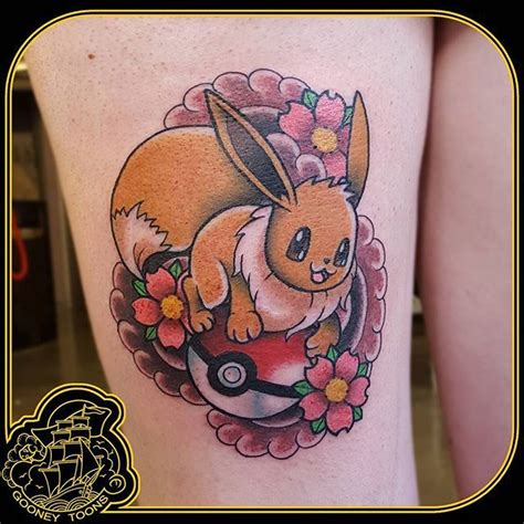 eevee tattoo 17 best images about tattoos on tattoos