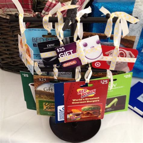 bridal shower gift basket prize ideas gift card tree for bridal shower prizes this